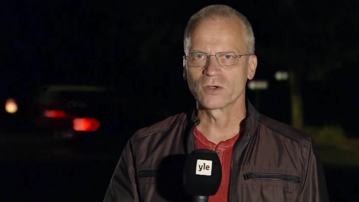 Ylen kirjeenvaihtaja Mika Hentunen raportoi tilanteesta paloalueella Kaliforniassa