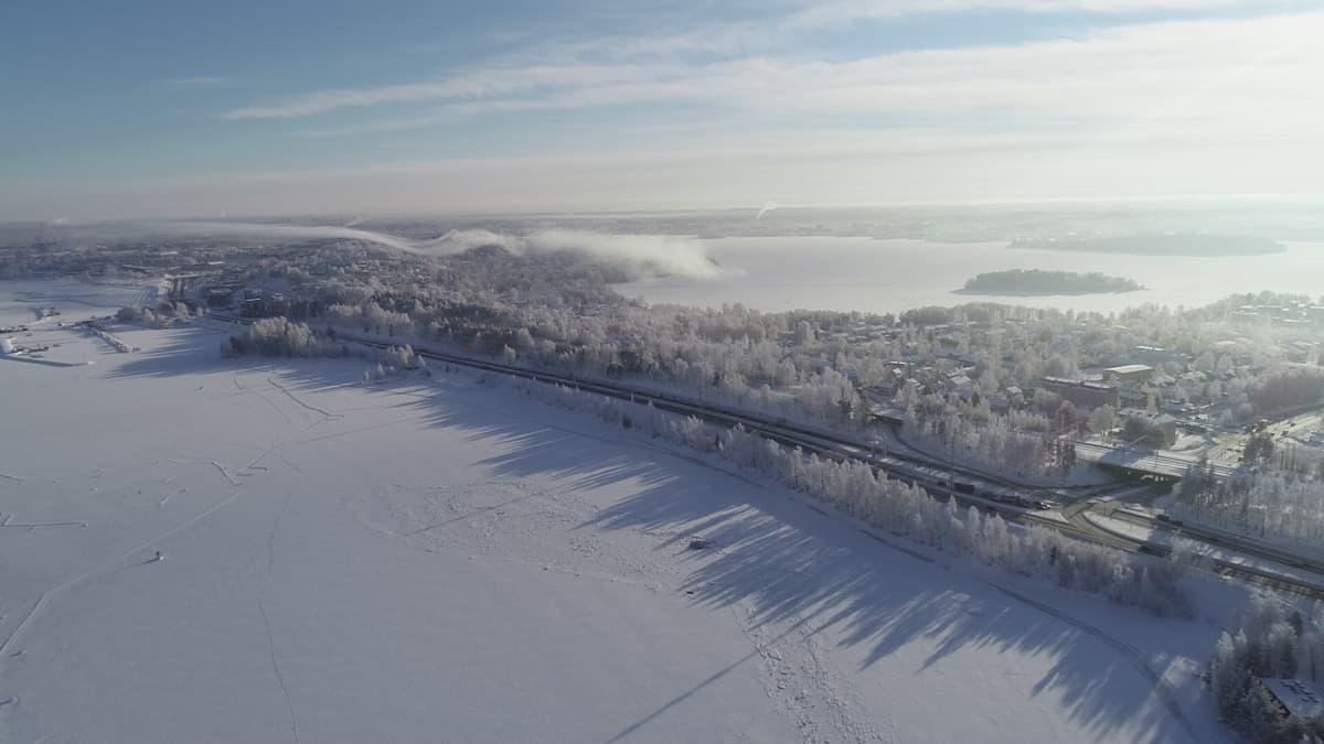 Tampereen Näsijärveen suunniteltu tekosaari on askeleen lähempänä toteutumista.