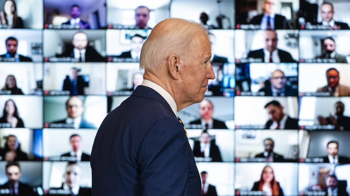Presidentti Biden puhuu USA:n talouden tilasta