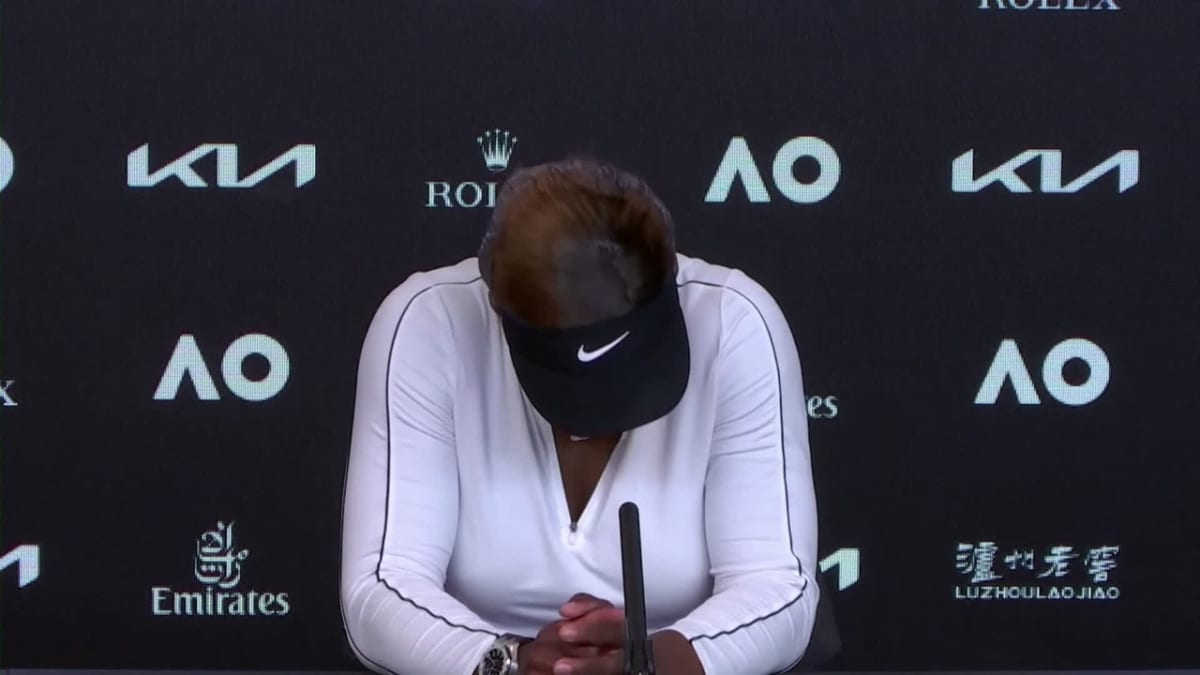 Serena Williams lopettamassa?