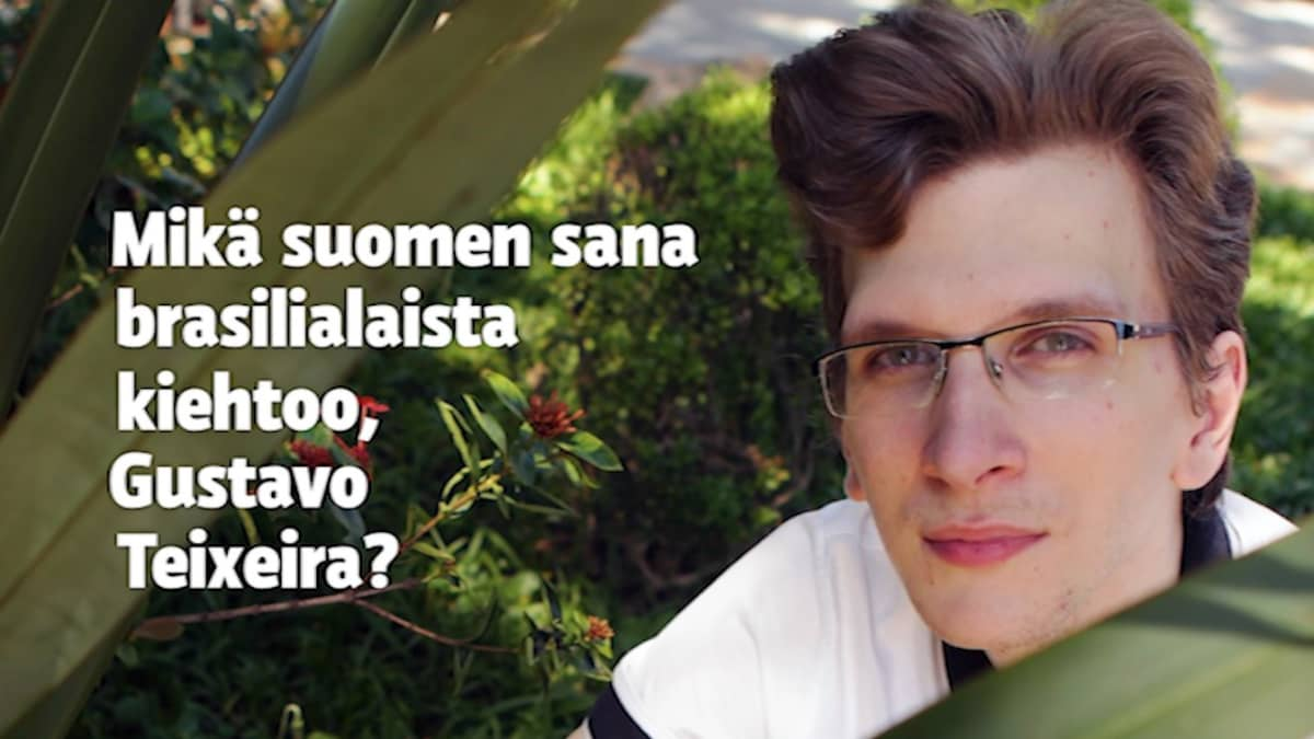 Brasilialainen Gustavo Teixeira opiskeli suomen kielen itse netissä