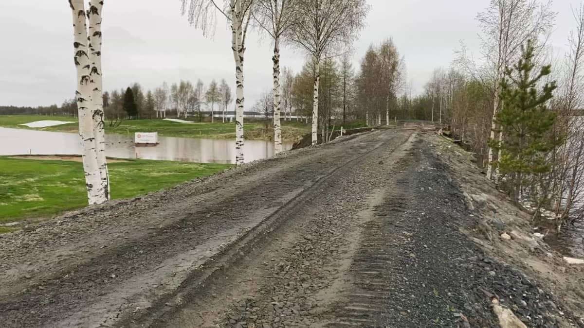 Tornionjoen tulva on rauhoittumassa