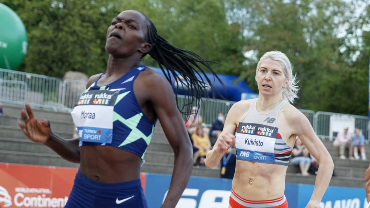 Sara Kuivisto juoksi uuden ennätyksensä