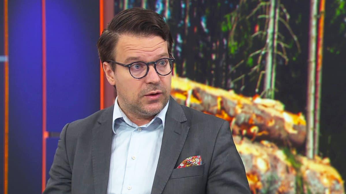 Ville Niinistö: Hallituksen pitäisi noudattaa omaa ohjelmaansa EU:n metsästrategiassa