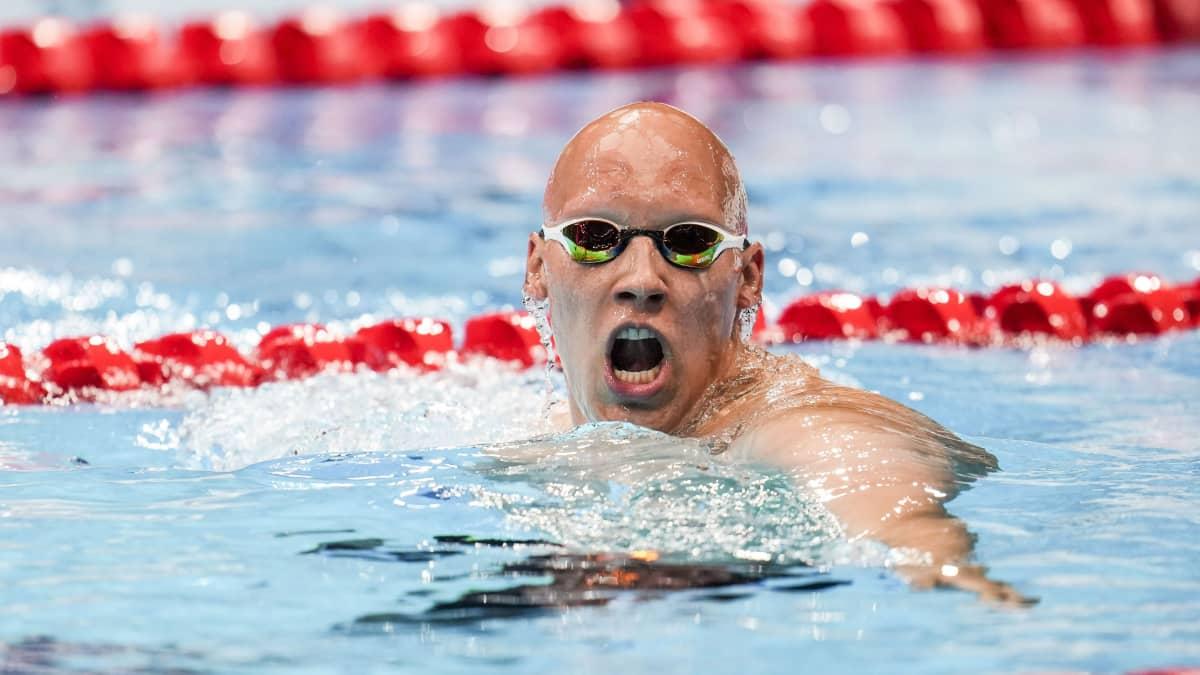 Matti Mattsson ui Suomen ennätyksellä olympiafinaaliin!