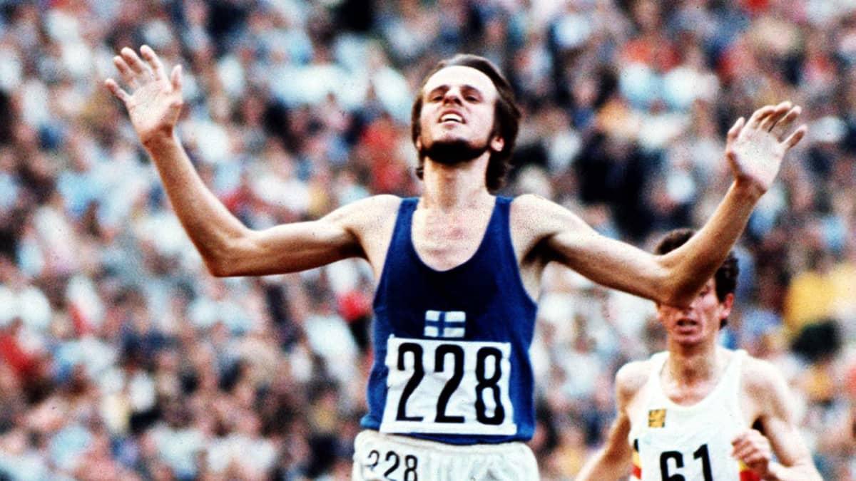 Lasse Viren juoksi kultaa Münchenissa vuonna 1972