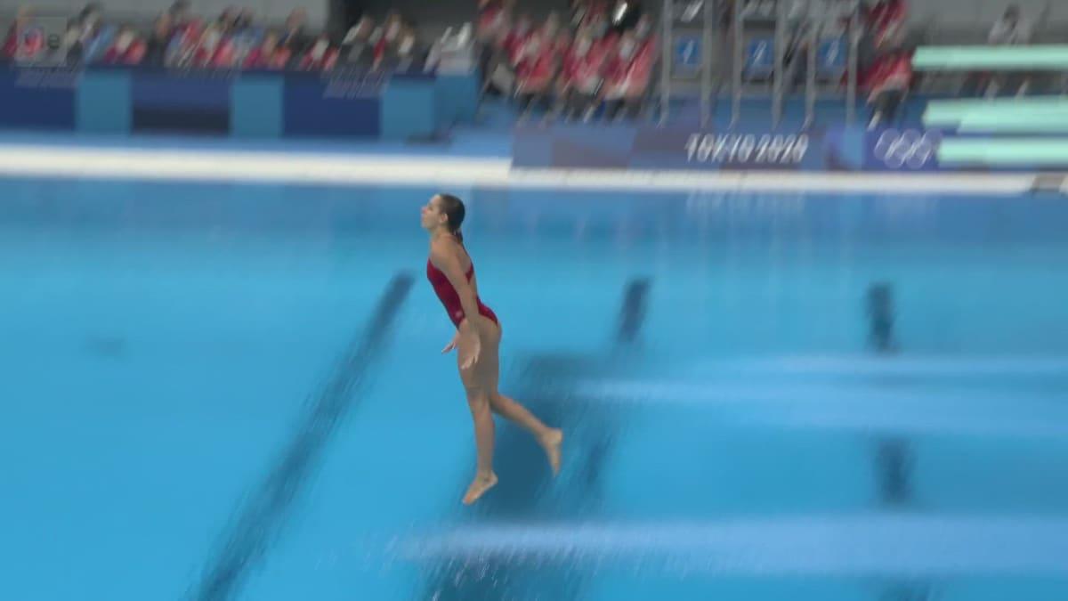 Tässä on olympialaisten surkein suoritus! Katso nollan pisteen arvoinen uimahyppy