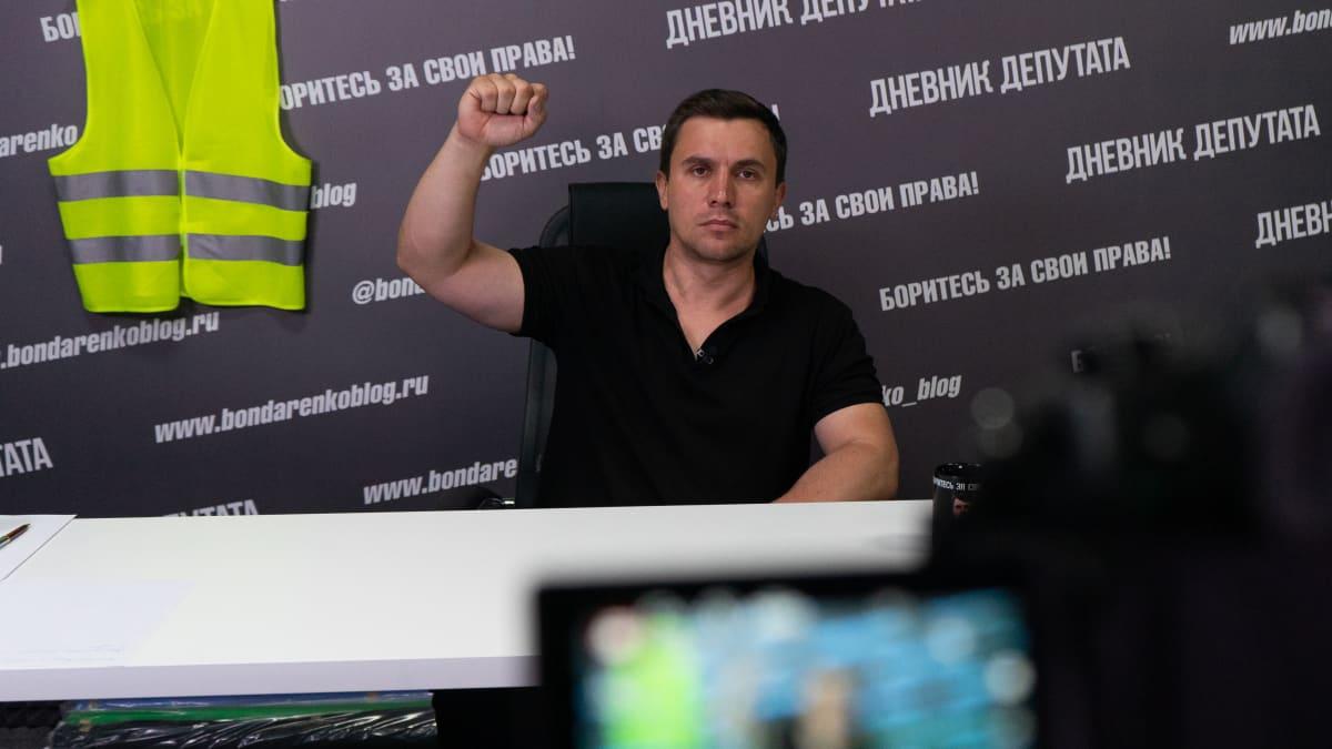 Nikolai Bondarenko käyttää erityisesti Youtubea ja Instagramia sanomansa levittämiseen.