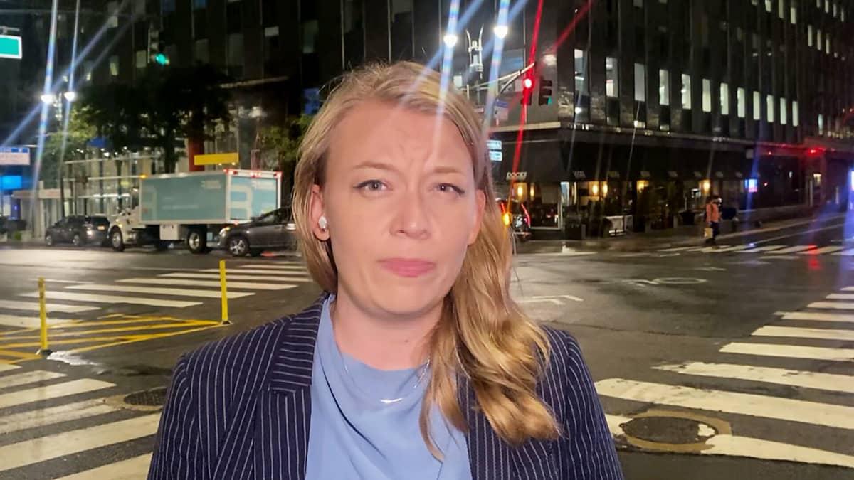 Yhdysvaltain-kirjeenvaihtaja Iida Tikka tiivistää Niinistön puheen annin.