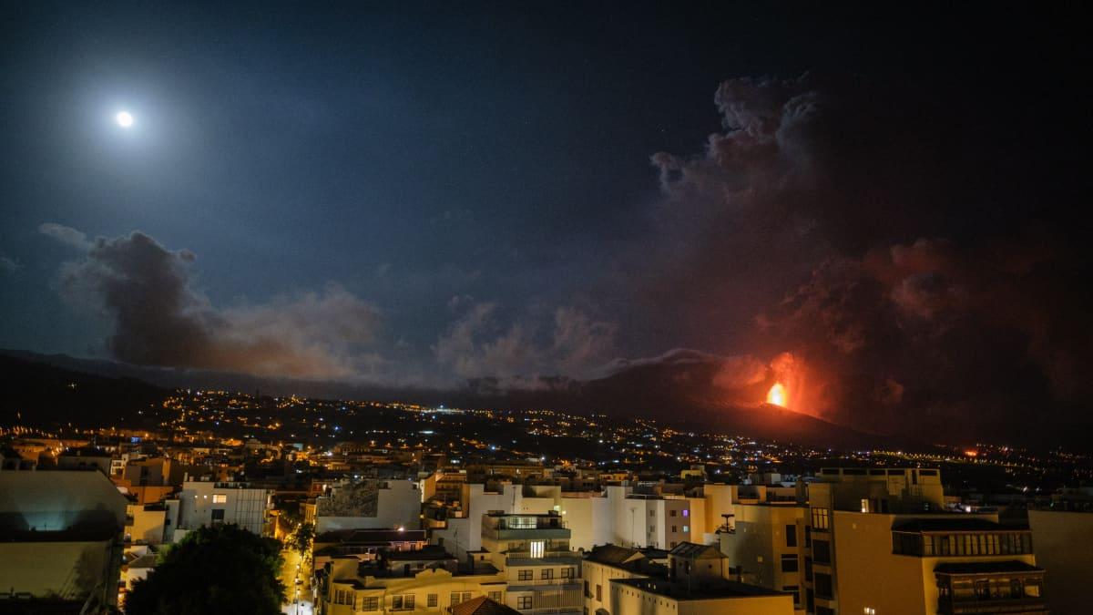 Tulivuorenpurkaus jatkuu Kanariansaarten La Palmalla