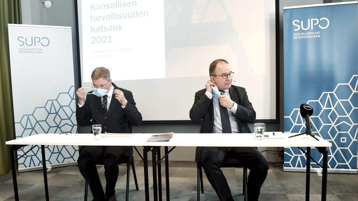 Suojelupoliisi: Suomeen kohdistuu laajaa valtiollista vakoilua