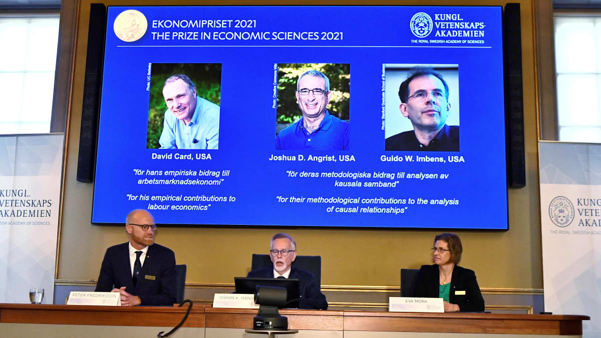 Talouden Nobel jaettiin Yhdysvalloissa työskentelevien ekonomistien kesken