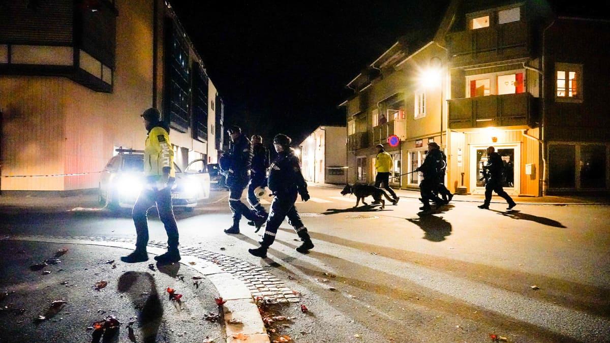 Viisi kuoli ja kaksi loukkaantui hyökkäyksessä Norjassa