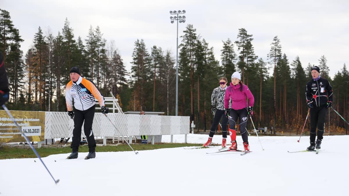 Suomen eteläisin ulkolatu avattiin Kontiolahdessa