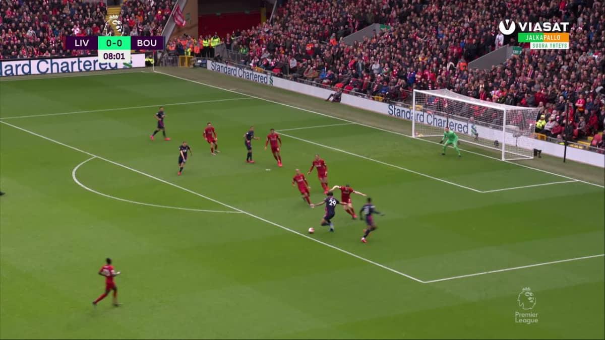 Liverpool otti 22. peräkkäisen kotivoittonsa Valioliigassa