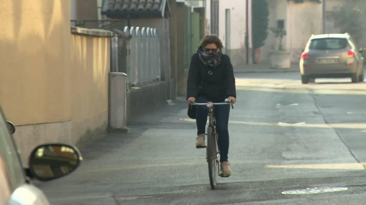 Italiassa 50 000 asukasta on eristyksissä koronaviruksen vuoksi