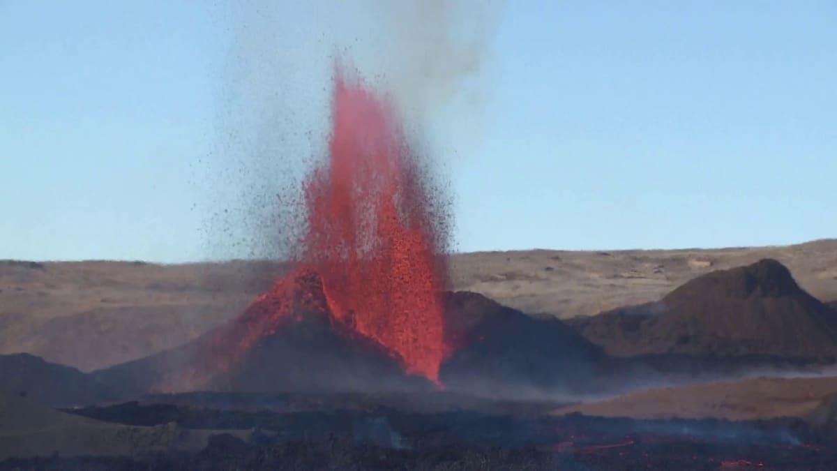 Tulivuorenpurkaus kiihtyi Islannissa