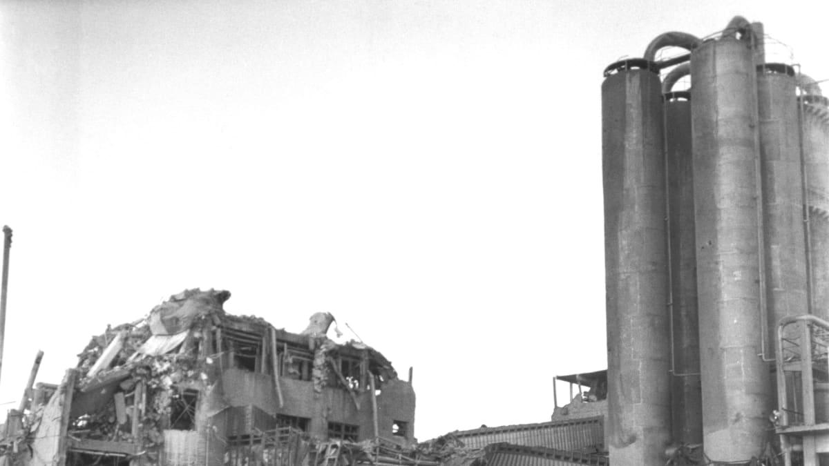 Oulun Typpi tehtan räjähdysonnettomuus 9.1.1963.