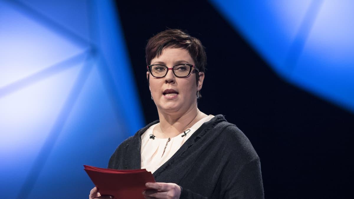 Merja Kyllösen puhe, TV1 Presidentittentti, presidentinvaalit 2018. 17.01.2018