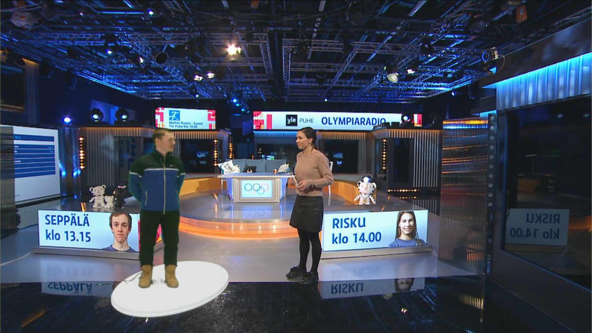 Sami Jauhojärvi ja Petra Manner.