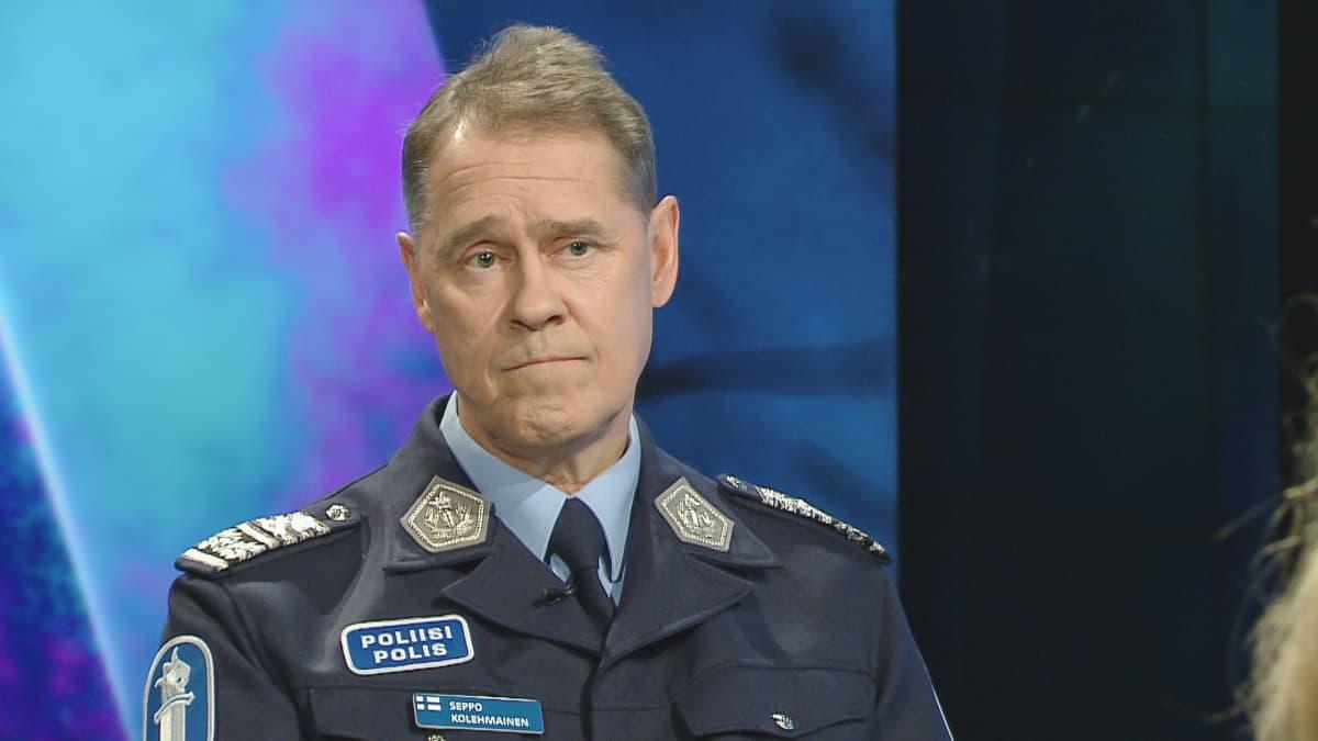 poliisiylijohtaja Seppo Kolehmainen