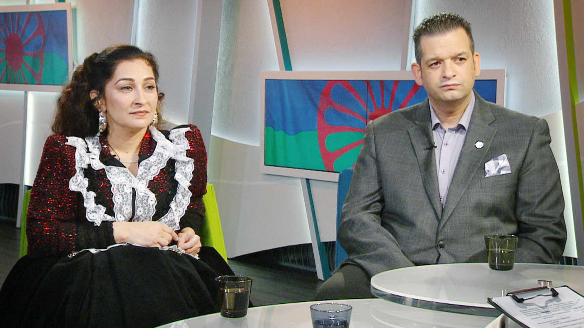 Miriam Schwartz ja Mertsi Ärling