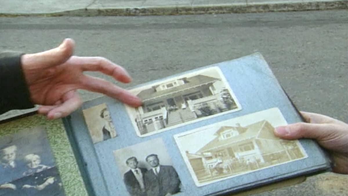 Walfred Anderson näkee lapsuudenkotinsa lähes 70 vuoden jälkeen