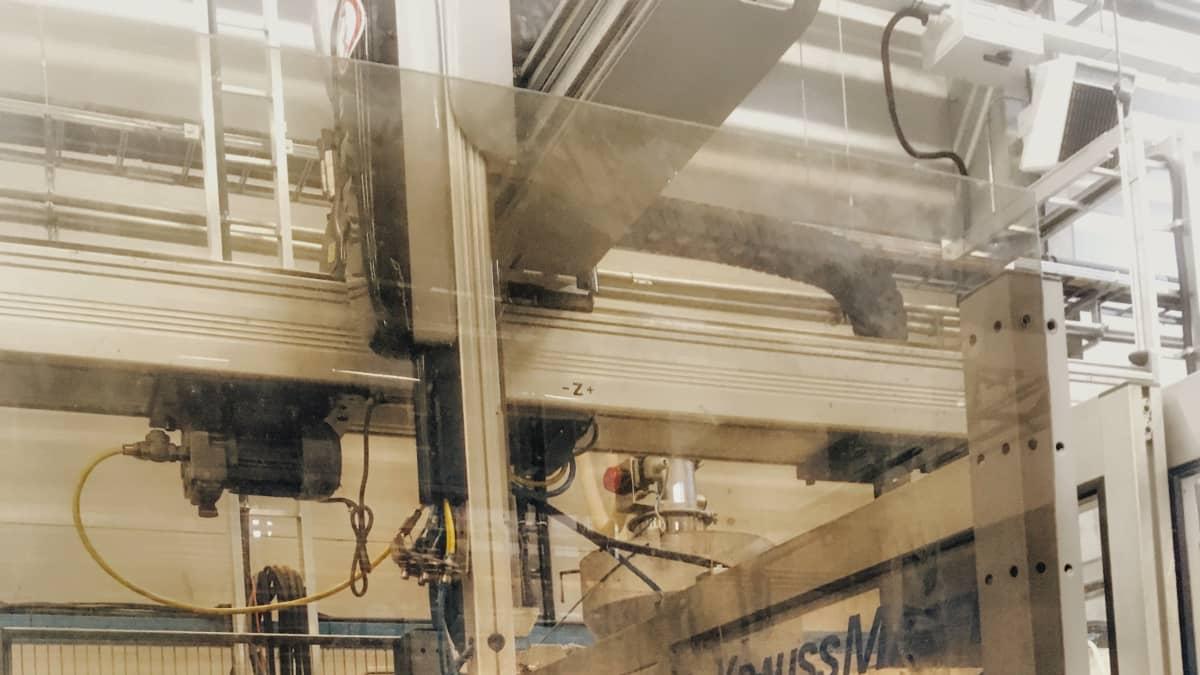 Uusiomuovista valmistuu Lohjan tehtaalla kukkaruukkuja