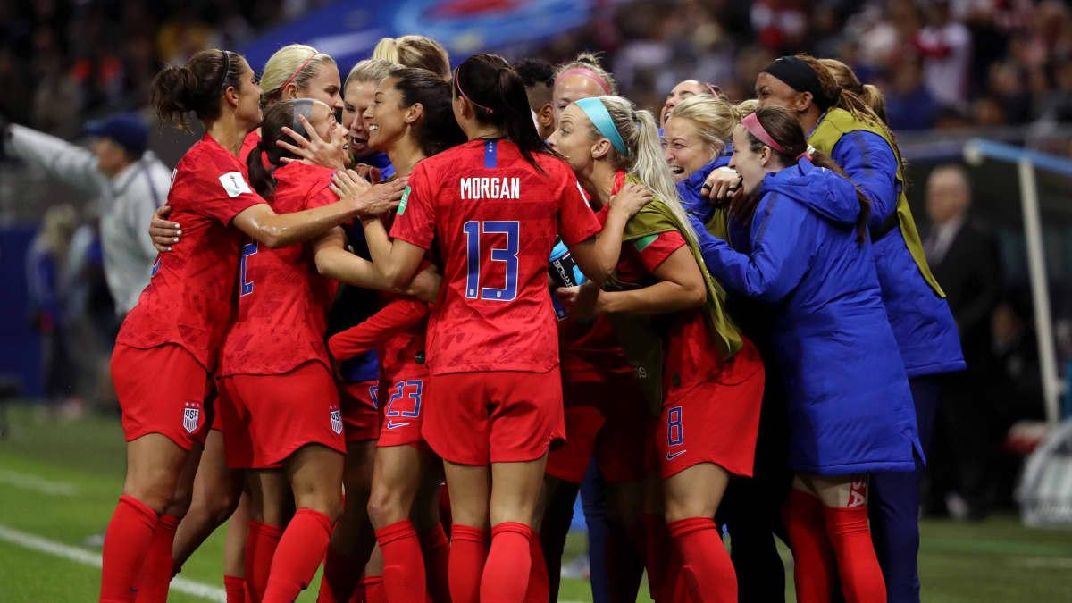 Yhdysvallat juhli 13-0-osumaa vielä kunnolla.