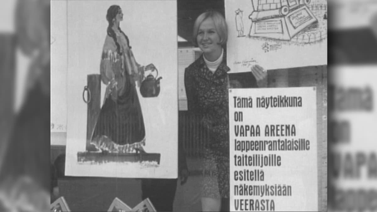 Kuva TV-ohjelmasta vuodelta 1967.
