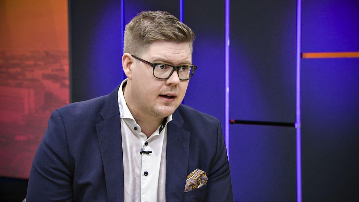 Antti Lindtman Ylen aamun vieraana 4. joulukuuta 2019.