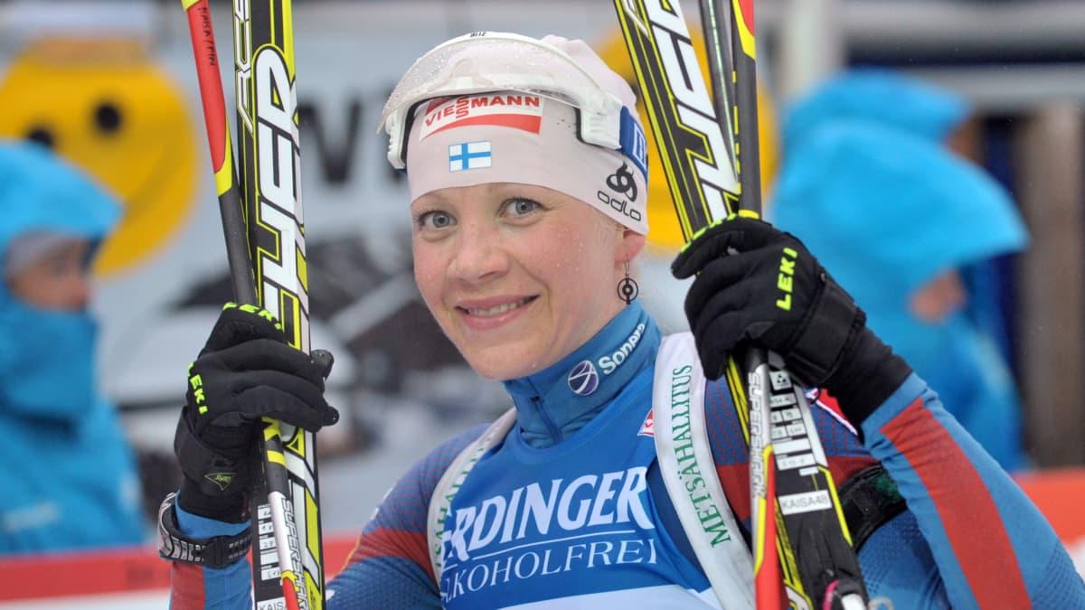 Kaisa Mäkäräinen MM-pronssi 2012