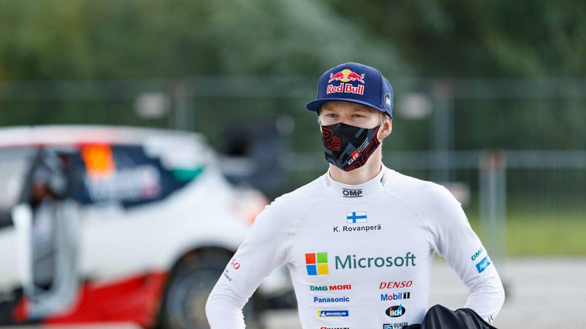 Kalle Rovanperä Viron MM-rallissa 2020.