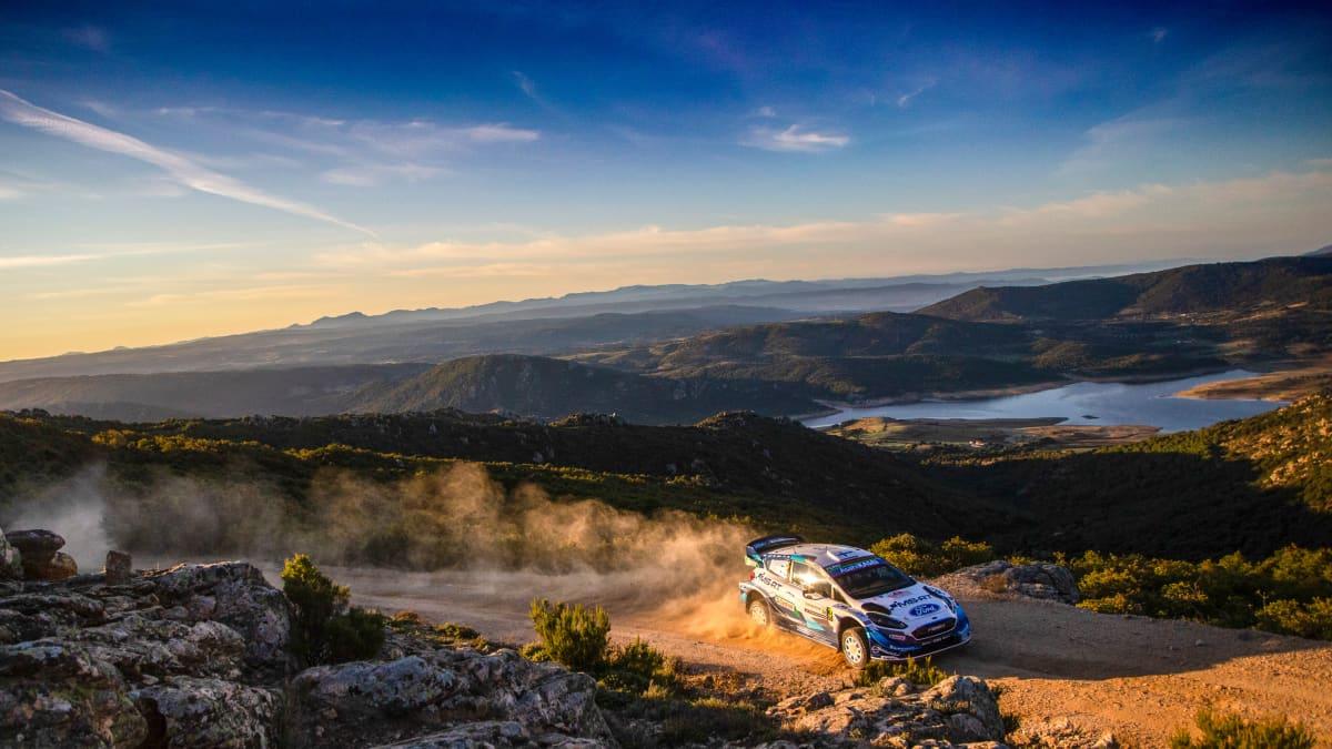 Teemu Suninen, M-Sport, Sardinia 2020.