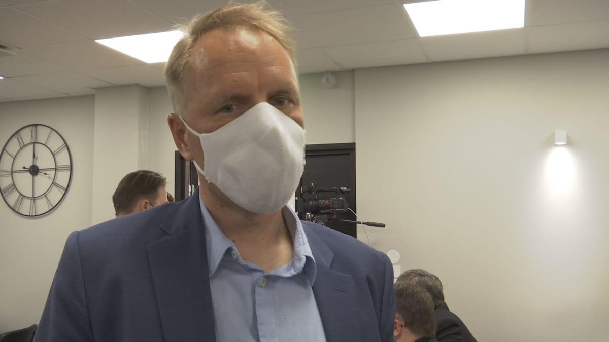 Toimitusjohtaja Petri Hätilä