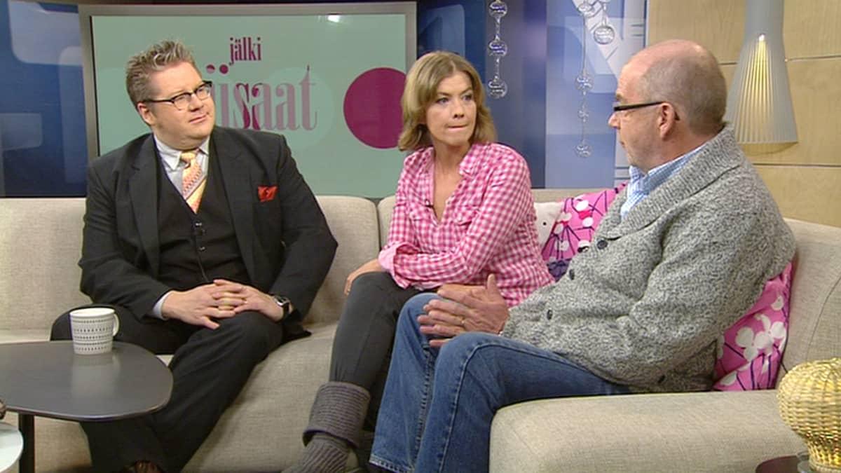 Jan Erola, Jeanette Björkqvist ja Kalle Isokallio   ja Kalle Isokallio