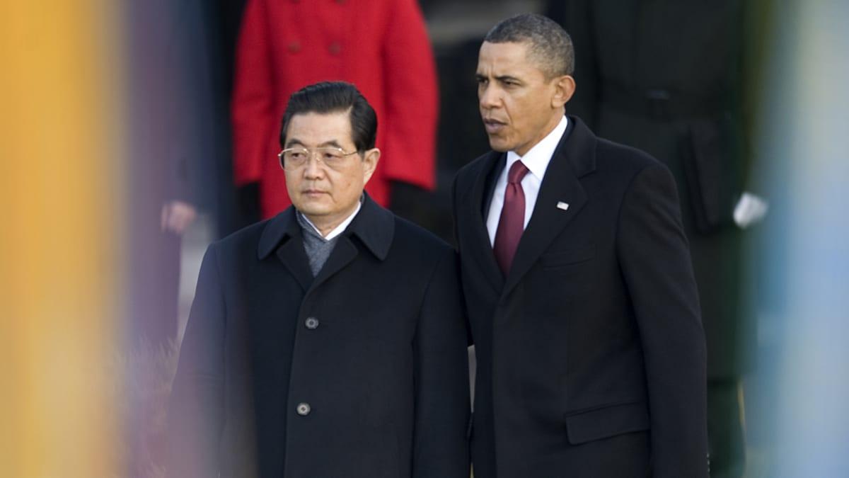 Hu Jintao ja Barack Obama