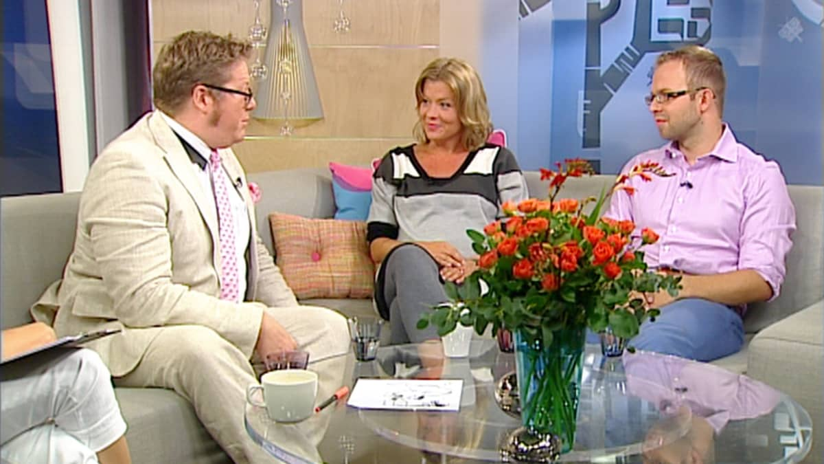 Jan Erola, Jeanette Björkvist ja Matti Parpala Jälkiviisaina 5. elokuuta.
