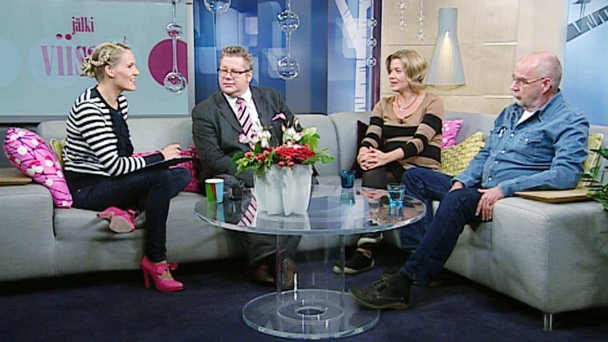 Jan Erola (vas.), Jeanette Björkvist ja Kalle Isokallio