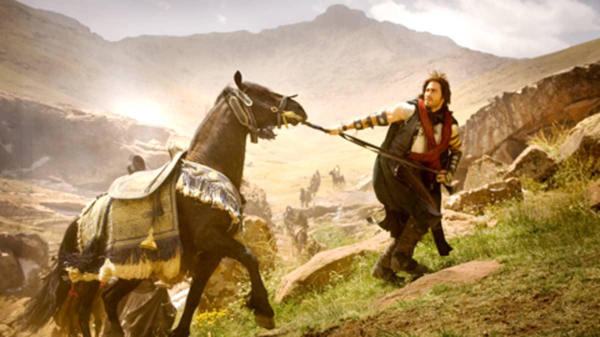 Jake Gyllenhaal näyttelee elokuvassa  Prince of Percia.