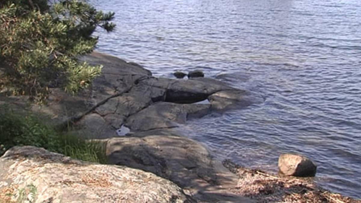 Kallioinen ranta