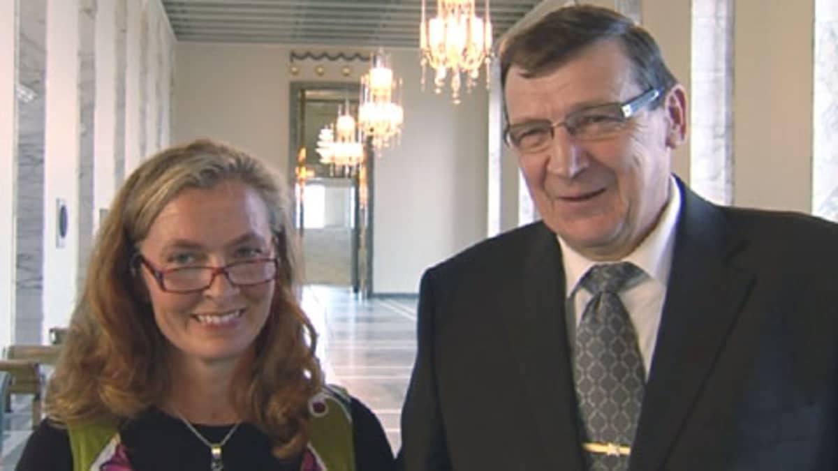 Heli Järvinen ja Raimo Vistbacka
