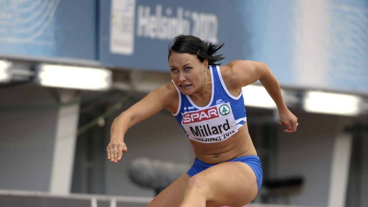 Emma Milard juoksee.