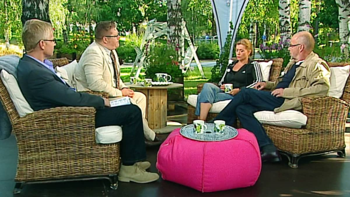 Jälkiviisaat Jeanetta Björkvist, Jan Erola ja Kalle Isokallio.