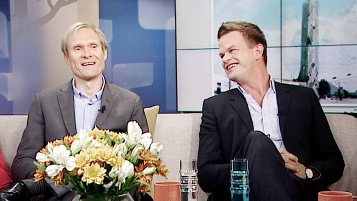 Antti Ahlava ja Kivi Sotamaa