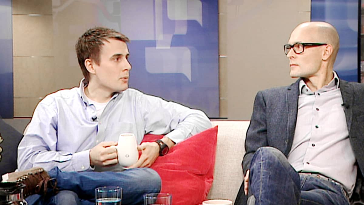 Benjamin Andberg ja Risto Kalsta