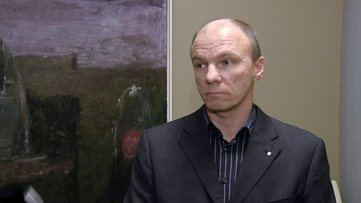 Supon ylitarkastaja Tuomas Portaankorva.