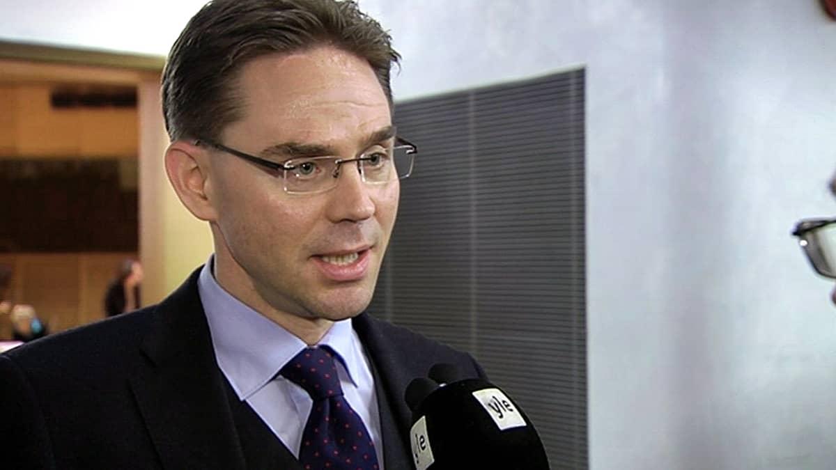 Pääministeri Jyrki Katainen.