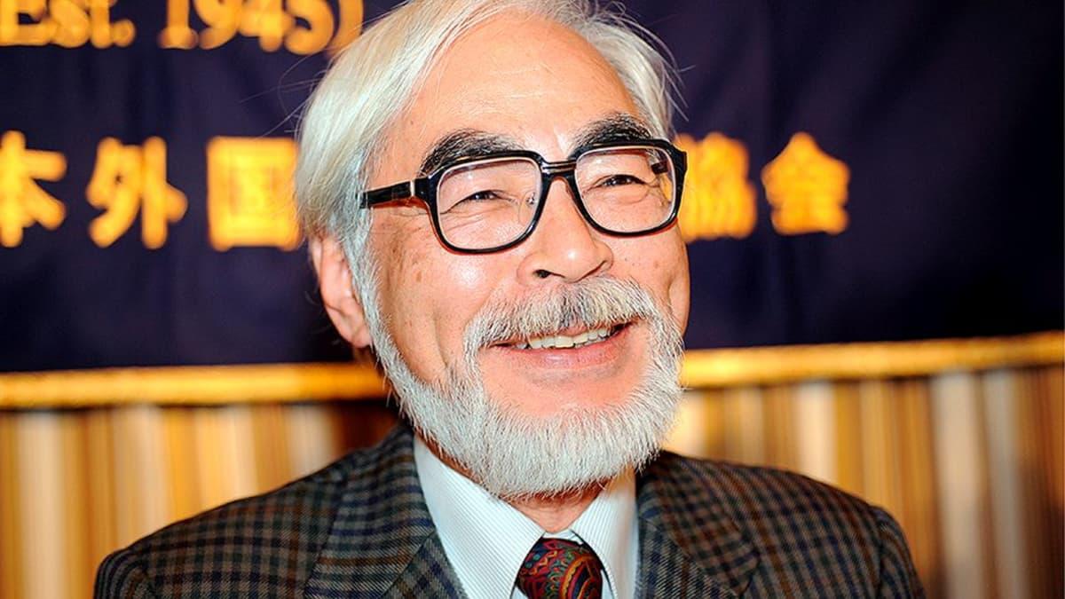 Animaatio-ohjaaja Hayao Miyazaki.
