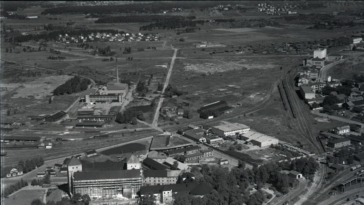 Turun linnaa remontoitiin 1950-luvulla